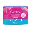 Carefree Flexicomfort Panty Liner Delicate Scent Unscented 40 Pack