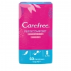 Carefree Flexicomfort Panty Liner Delicate Scent Unscented 60 Pack