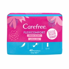 Flexi Comfort With Fresh Scent Panty Liners 40-pack