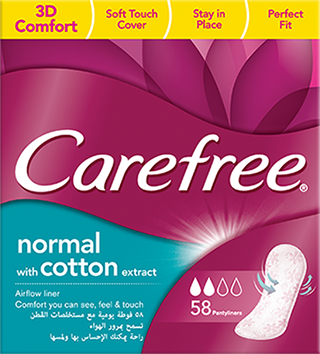 Cotton Feel Panty Liners